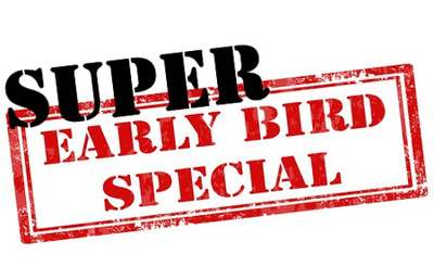 super early bird special image